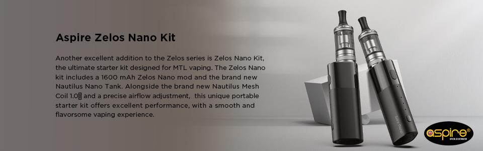 Aspire Zelos Nano Kit OA