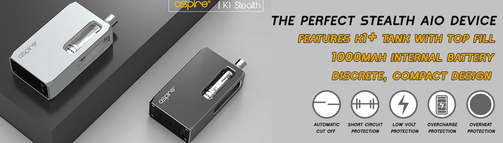 Aspire k1 stealth kit UK - Official Aspire Wholesale UK