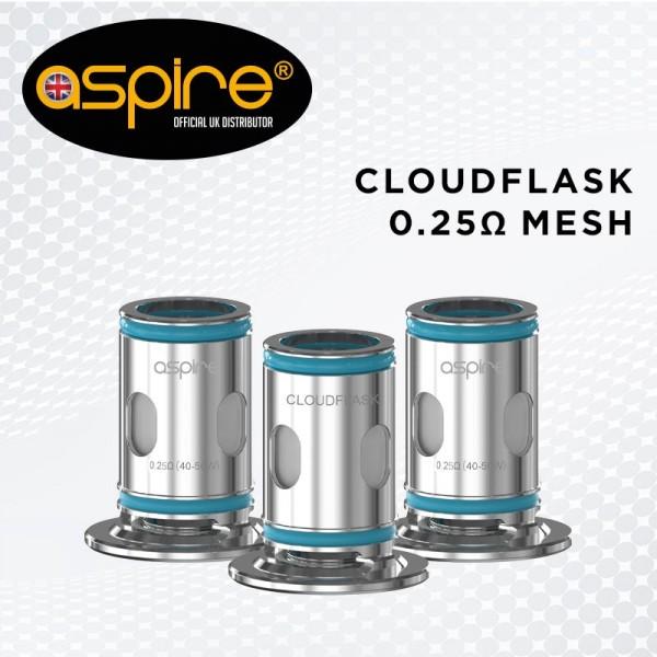 Cloudflask Mesh Coils