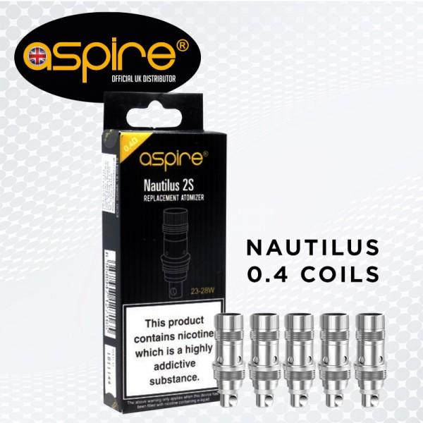 Nautilus 0.4ohm Coils