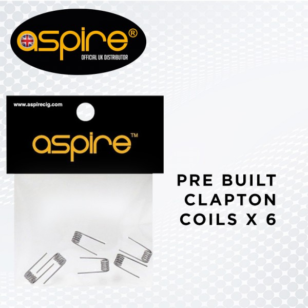 Pack of 6 Pre-Built Clapton